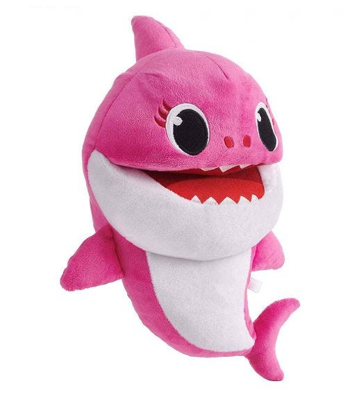 BABY SHARK Song Puppets With Tempo Control - Daddy Shark