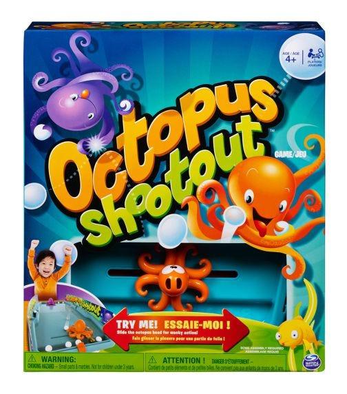 SPIN MASTER Game Octopus Shootout