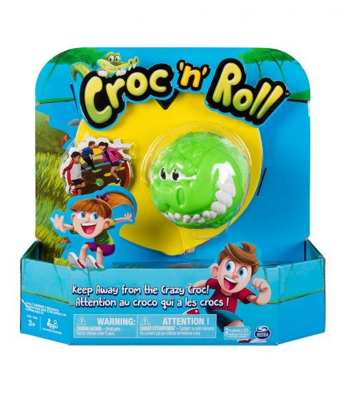 SPIN MASTER Game Croc N Roll
