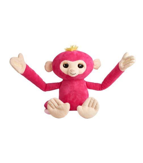 WOW WEE Fingerlings Huglings - Monkey (Pink Bella)