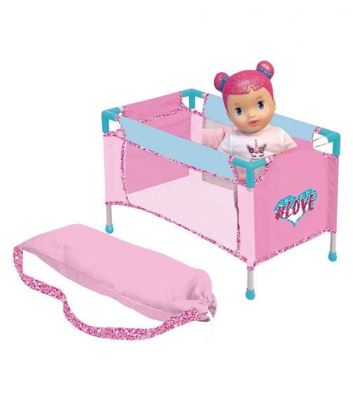 DIMIAN Love Travel Bed 9 In 1