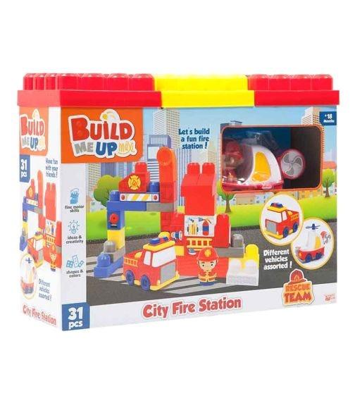 HAPPY LINE Block Maxi, Fire Station Set 31/32