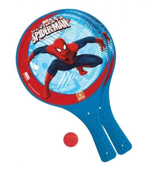 MONDO Paddle Bat Set Spiderman