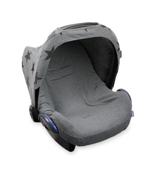 DOOKY Seat Cover 0+ Dark Grey Melange