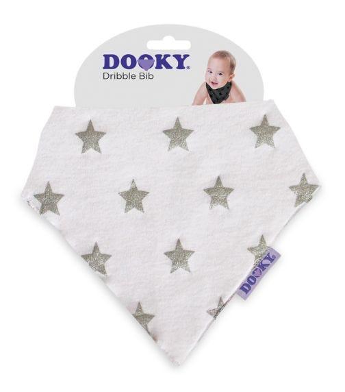 DOOKY Dribble Bib - Silver Star