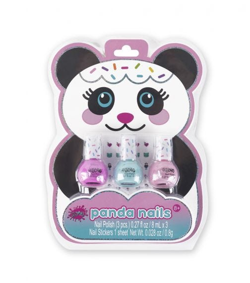 3C4G Panda Nailpolish Trio