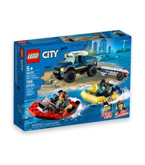 LEGO 60272 Police Boat Transport