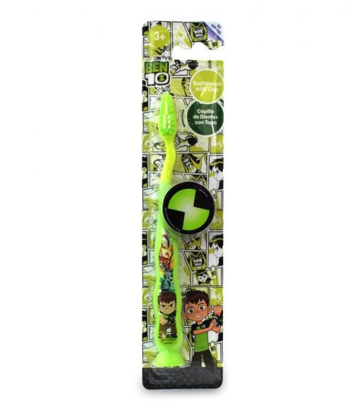 AIRVAL Ben 10 Kids Tooth Brush With Cap