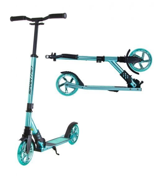 SPARTAN Extreme Mm Folding Scooters Mint Blue