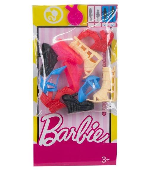 BARBIE Shoe Packs Asst Cdu