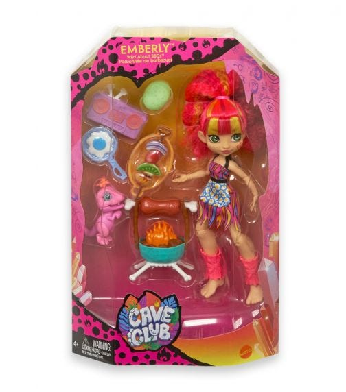 MATTEL Cave Club First Story In A Box Doll And Playset Assorted 2