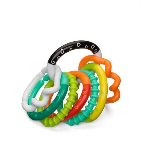 INFANTINO Textured Ring Links