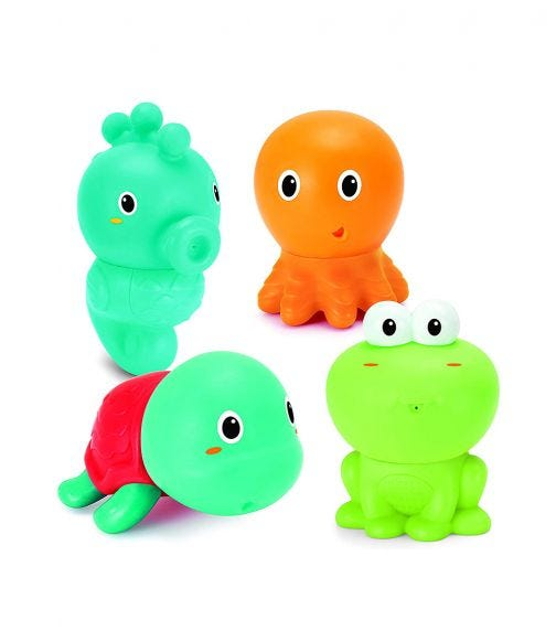 INFANTINO Senso Plug Squirt Aquarium Toys