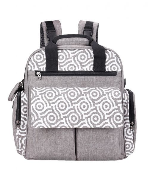ALAMEDA Convertible Diaper Bag Backpack With Nappy