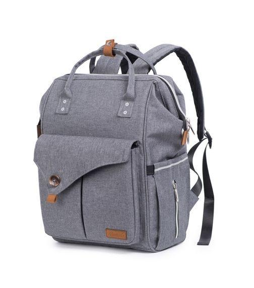 ALAMEDA Diaper Backpack - Large - Grey