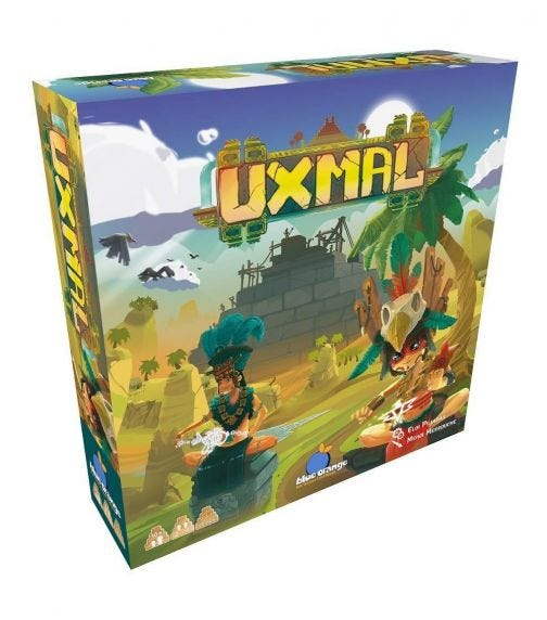 BLUE ORANGE GAMES Uxmal