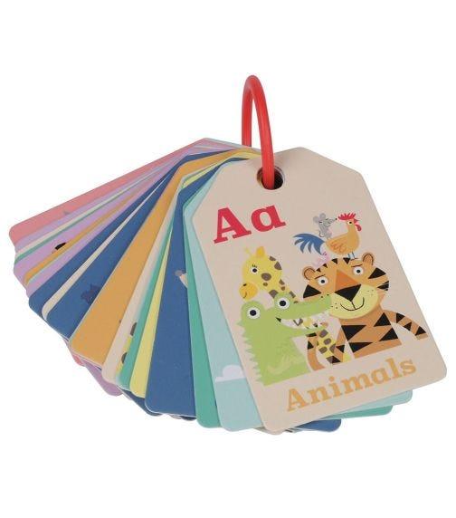 TIGER TRIBE Flash Card Animal ABC