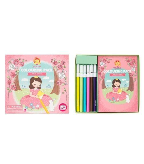 TIGER TRIBE Coloring Pack Princesses