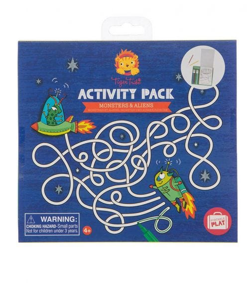 TIGER TRIBE Activity Pack Monsters & Aliens