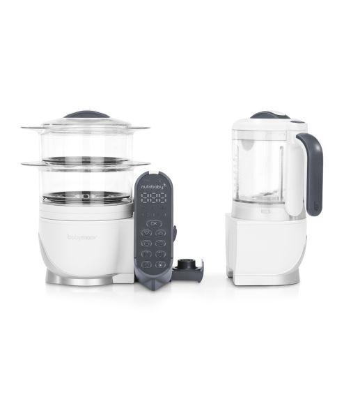 BABYMOOV Steamer & Blender Mixer - Loft White