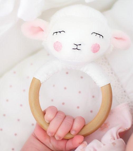JABADABADO Rattler Ring Lamb