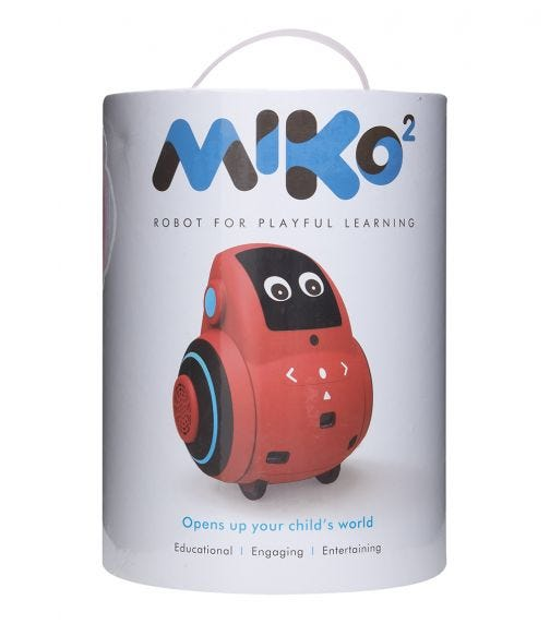 MIKO 2 Robot For Playful Learning - Red