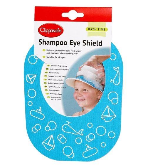 CLIPPASAFE Shampoo Eye Shield - Blue