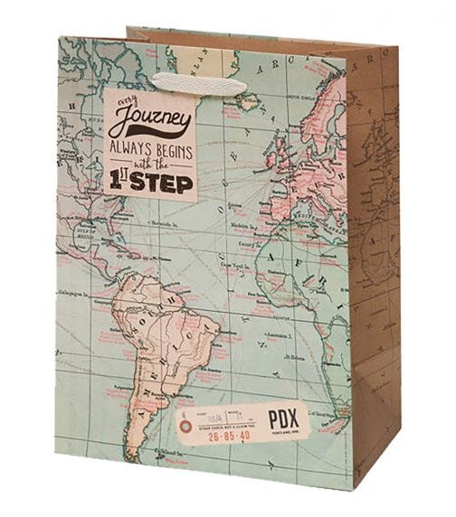 LEGAMI Gift Bags - Map