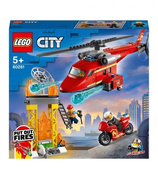 LEGO 60281 Fire Rescue Helicopter Set