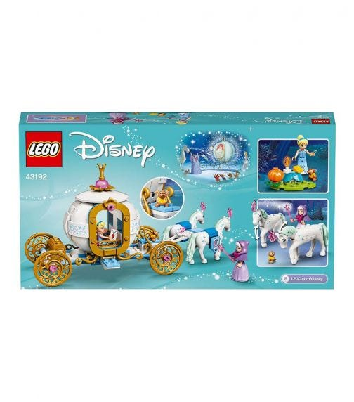 LEGO 43192 Cinderella's Royal Carriage Set