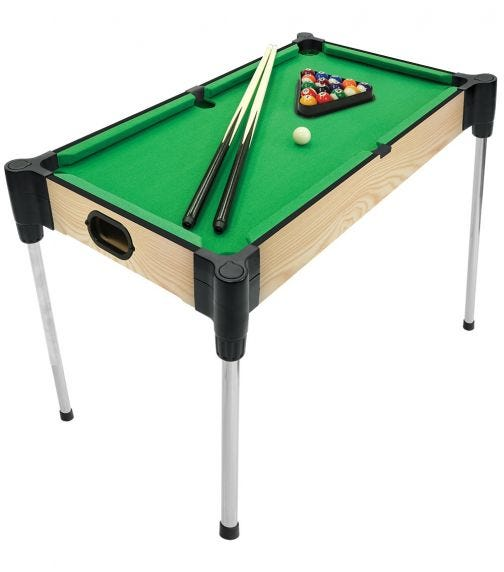 AMBASSADOR Table Tabletop Pool (27 inches/68.5 cm)