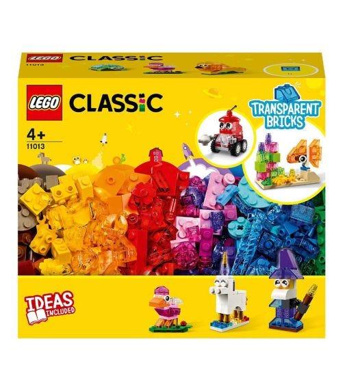 LEGO 11013 Creative Transparent Bricks Set