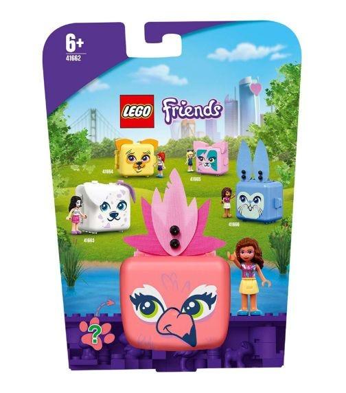 LEGO 41662 Olivia's Flamingo Cube Set