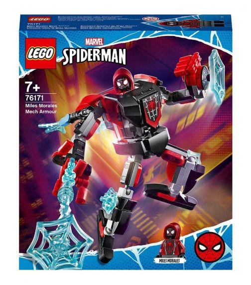 LEGO 76171 Miles Morales Mech Armor Set Set