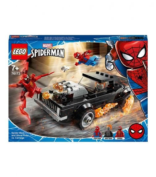 LEGO 76173 Spider-Man And Ghost Rider Vs. Carnage Set