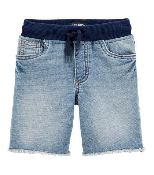 OSHKOSH Pull-On Knit Denim Shorts