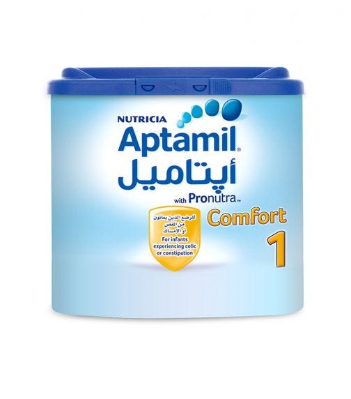 APTAMIL Comfort 1 Infant Formula Milk, 400G