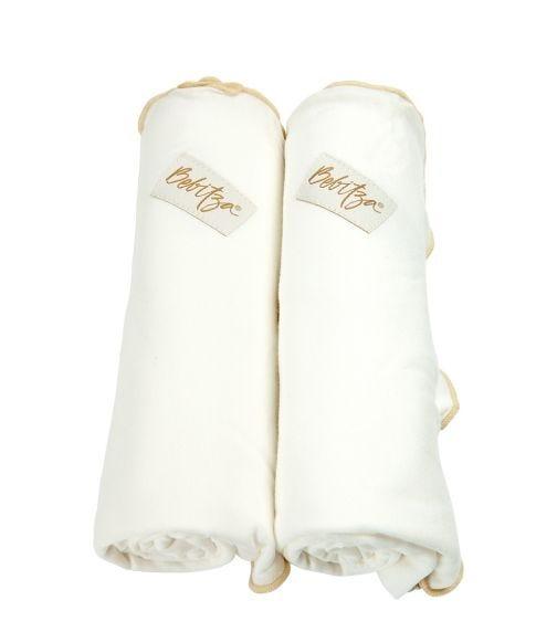 BEBITZA Bamboo Cotton Jersey  Cream Nursing Cover