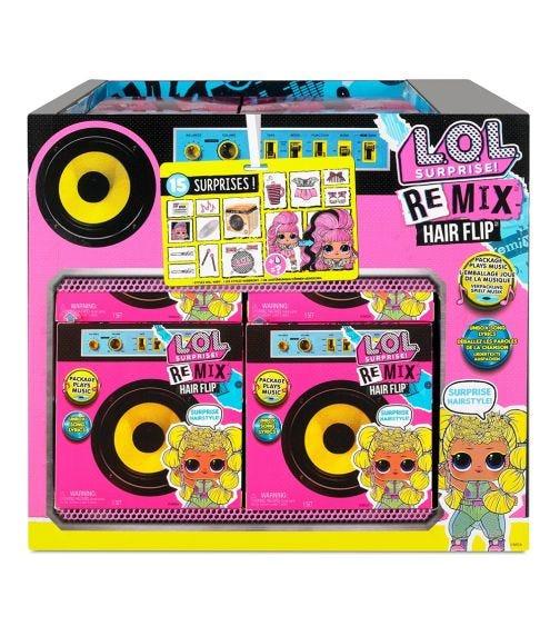 LOL SURPRISE O.M.G Remix Hairflip Tots Assorted