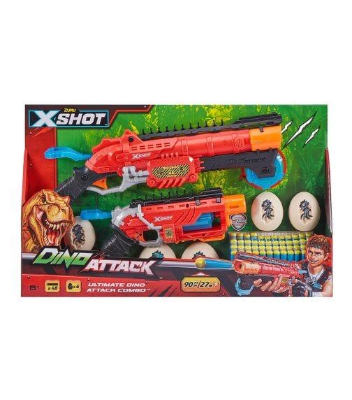 X-SHOT - Dino Attack Combo Pack Hunter And Eliminato