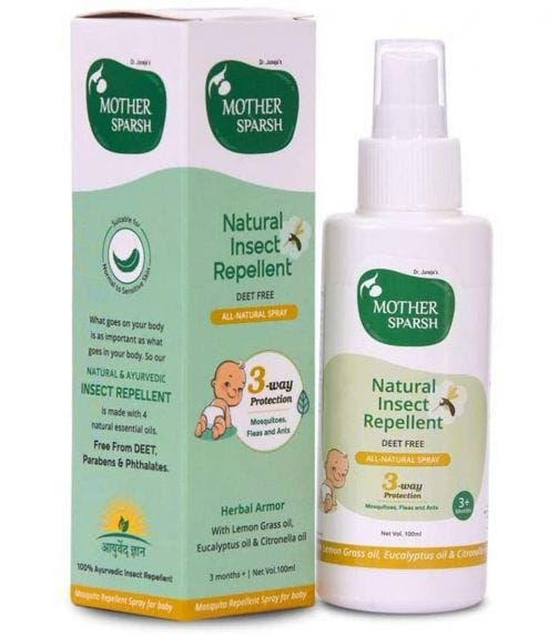 MOTHER SPARSH Tural Insect Repellent For Babies (100 ML)