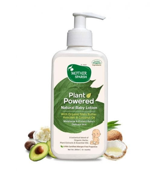 MOTHER SPARSH Plant Power Tural Baby Wash, 200 ML