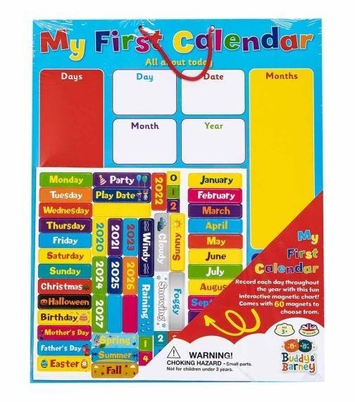 BUDDY & BARNEY My First Calendar
