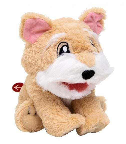 WOW WEE Alive Jr Play & Say Puppet - Dog Pepper