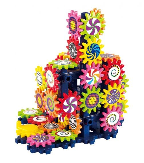 PLAYGO Gears Motion Machine - Over 110 Pieces