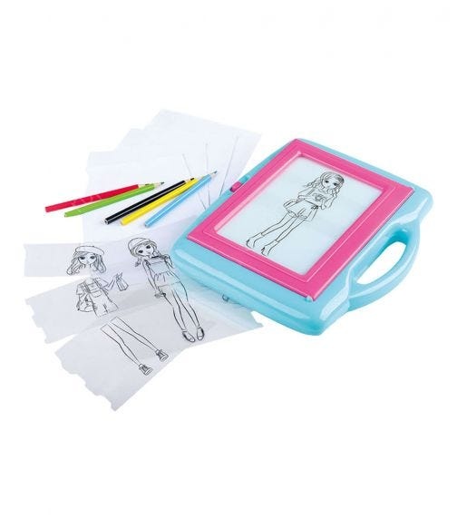 PLAYGO Trace It Up Fashion Artist (Battery Operated)