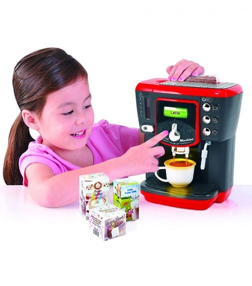 PLAYGO Coffee Machine (Battery Operated)