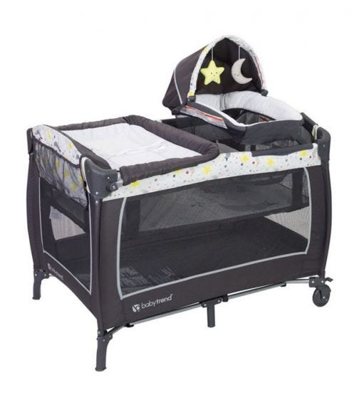 BABYTREND Lil Snooze Deluxe II Nursery Center Twinkle Little Moon