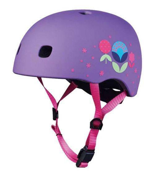 MICRO Helmet Floral Purple V2 - M