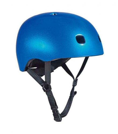 MICRO Helmet Dark Blue Metallic V2 - S